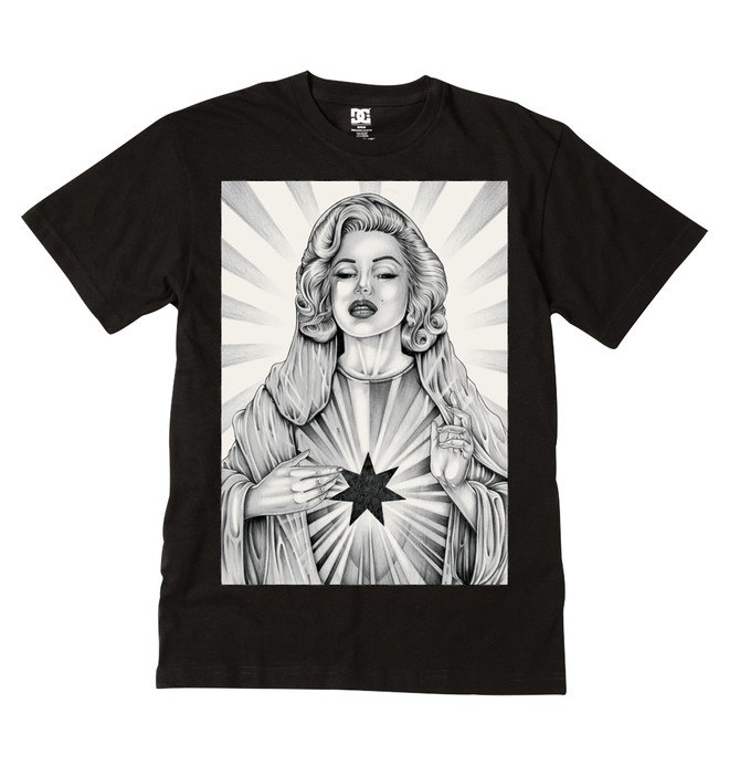 0 Men's Sacred Tee  ADYZT00405 DC Shoes