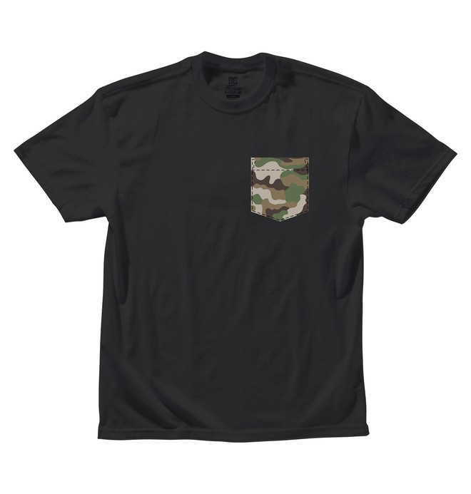 0 Men's Camo Pocks Tee  ADYZT00463 DC Shoes