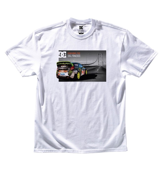 0 Men's Ken Block Gymkhana 5 Starter Tee  ADYZT00520 DC Shoes