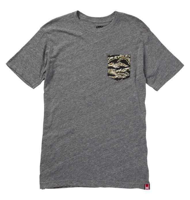 0 Men's Rob Dyrdek CAMO POCKET Tee  ADYZT00613 DC Shoes