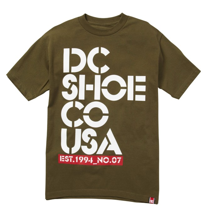 0 RD STACK TEE  ADYZT00615 DC Shoes