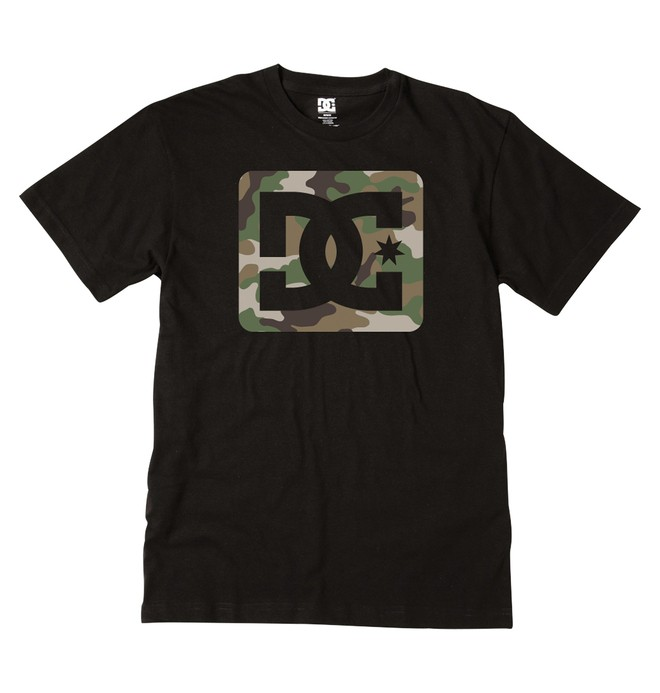 0 Men's Square Stars Tee  ADYZT00745 DC Shoes