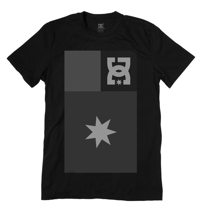 0 Men's Greyscale Tee  ADYZT00766 DC Shoes
