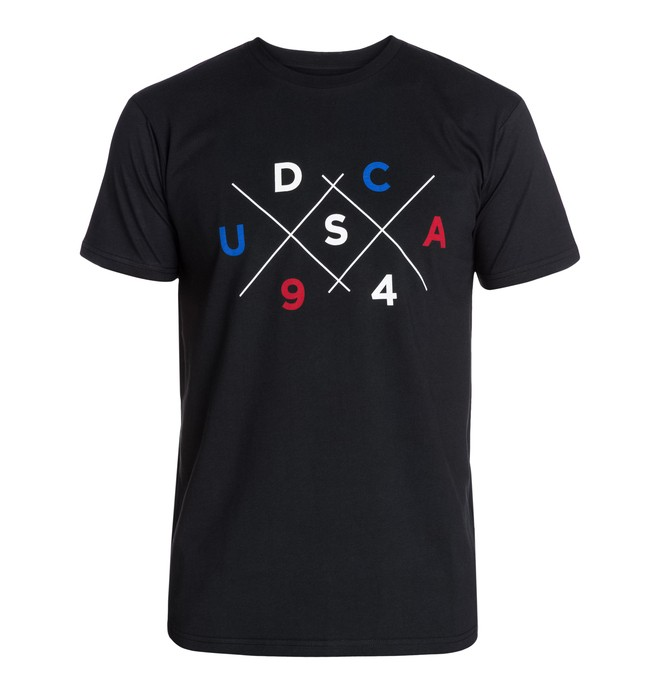 0 Men's Duality SS Tee  ADYZT03069 DC Shoes