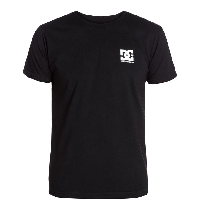 0 Men's Shoeco Star SS Tee  ADYZT03086 DC Shoes