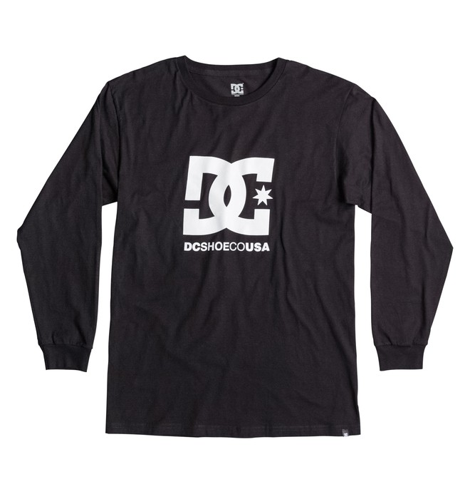 0 Men's Shoeco Star LS Tee  ADYZT03087 DC Shoes