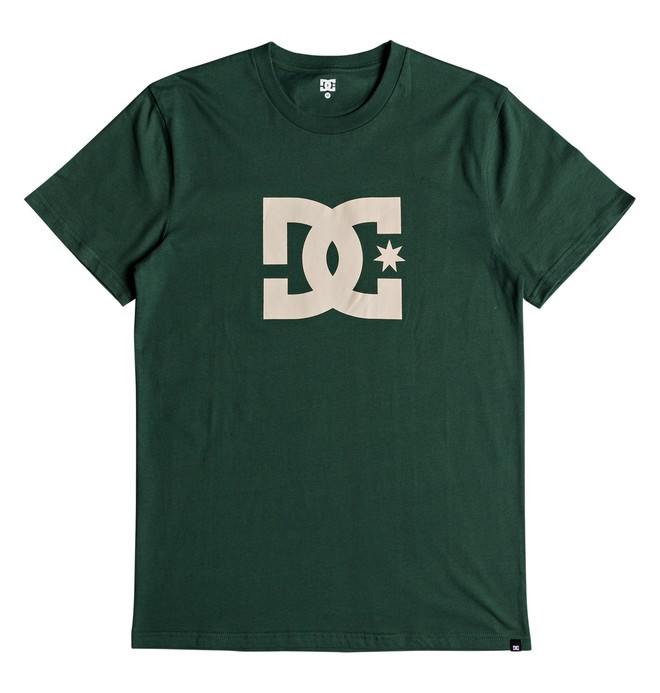 0 DC Star Tee Green ADYZT03119 DC Shoes