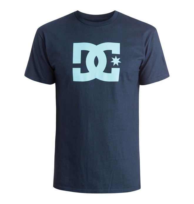 0 DC Star Tee Blue ADYZT03119 DC Shoes