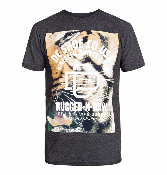 0 Men's Raw Tiga Short Sleeve Screen Tee  ADYZT03127 DC Shoes