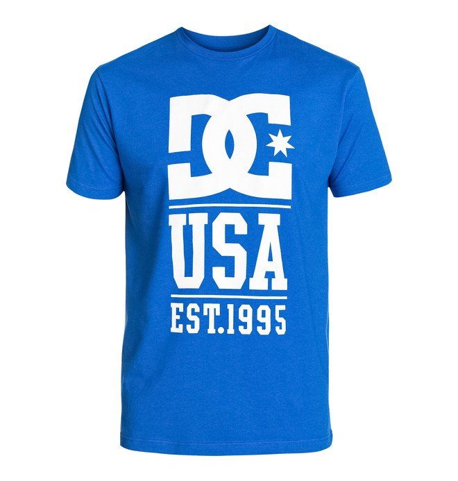 0 Rob Dyrdek Usa Stack Tee  ADYZT03243 DC Shoes