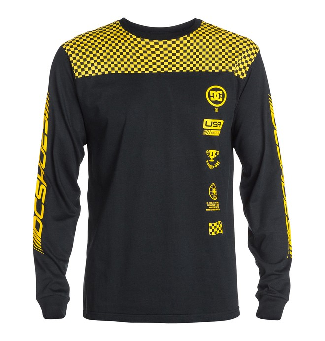 0 Men's Pegs Long Sleeve Tee  ADYZT03269 DC Shoes