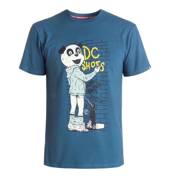 0 Camiseta Cliver Panda - hombre  ADYZT03399 DC Shoes