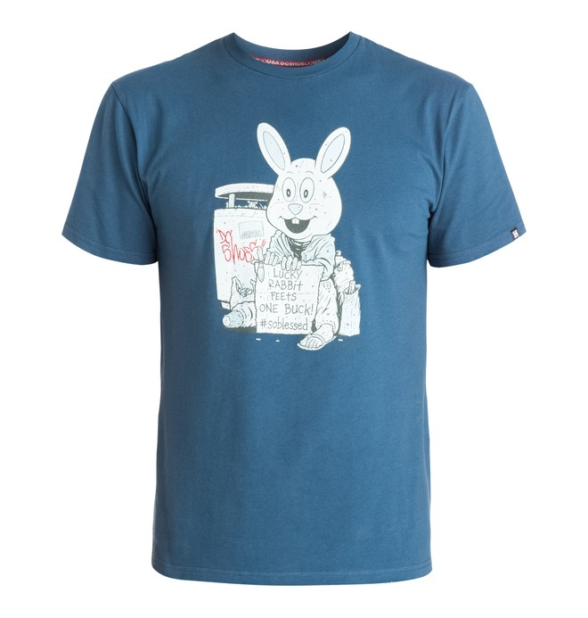 0 Men's Cliver Bunny Tee  ADYZT03400 DC Shoes