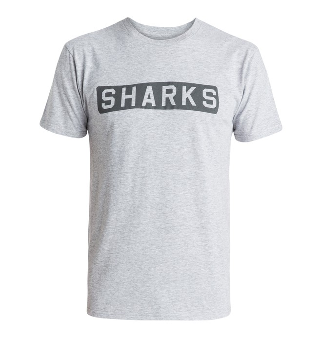 0 Men's DC x Shut Sharks Tee  ADYZT03619 DC Shoes
