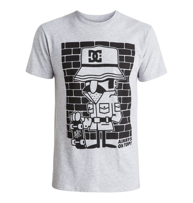 0 Men's 123 Instigate Tee  ADYZT03718 DC Shoes