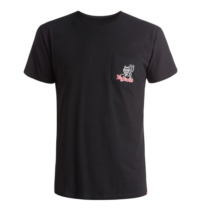 0 Men's Devil Diagram Tee  ADYZT03737 DC Shoes