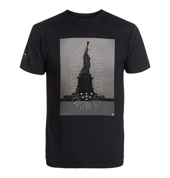 0 Men's Ny Metropolis Tee  ADYZT03757 DC Shoes