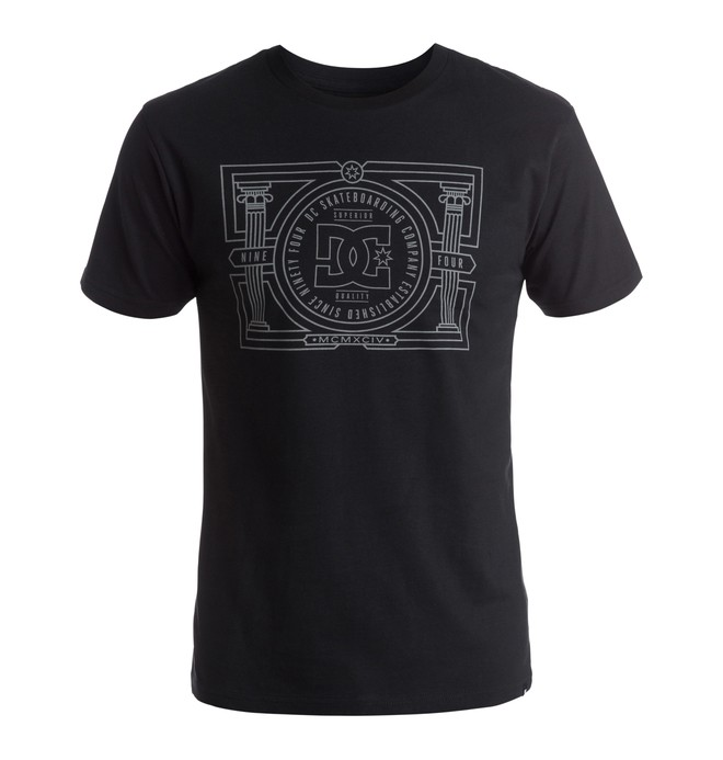0 Men's DC Pillars Tee  ADYZT03799 DC Shoes