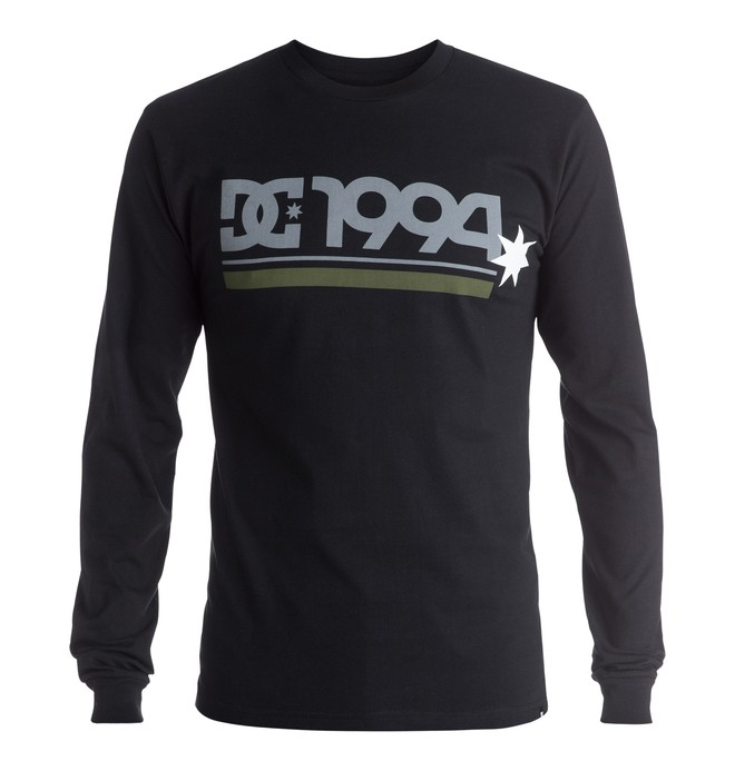 0 Men's DC Star Bar Long Sleeve Tee  ADYZT03904 DC Shoes