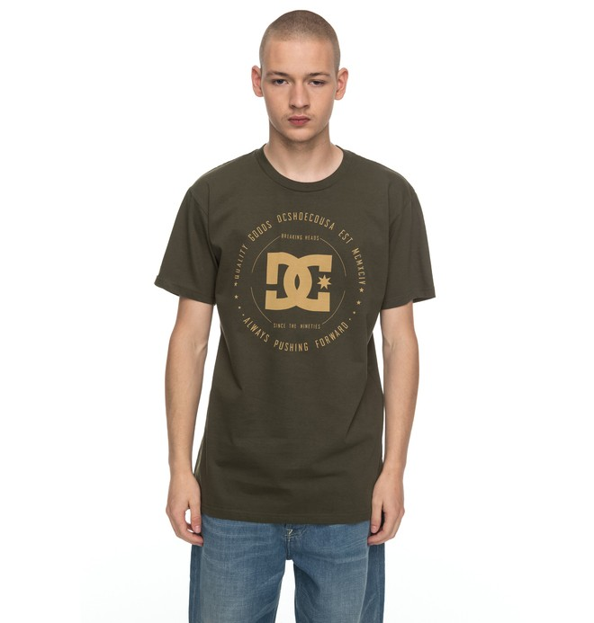 0 Men's Rebuilt Tee Brown ADYZT03910 DC Shoes