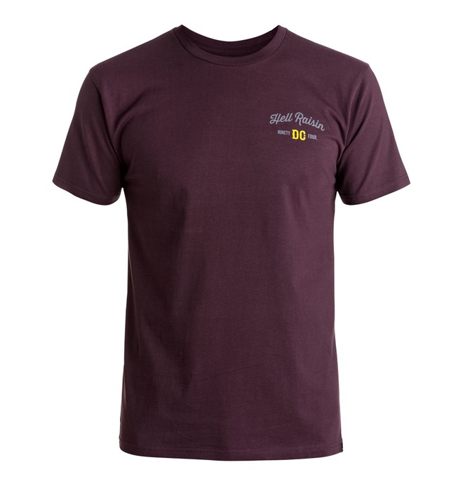 0 Men's Hell Raisin Tee  ADYZT03926 DC Shoes