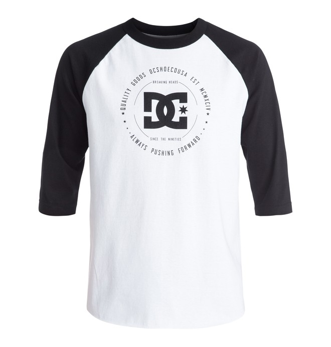 0 Men's Rebuilt 3/4 Raglan Tee  ADYZT03976 DC Shoes