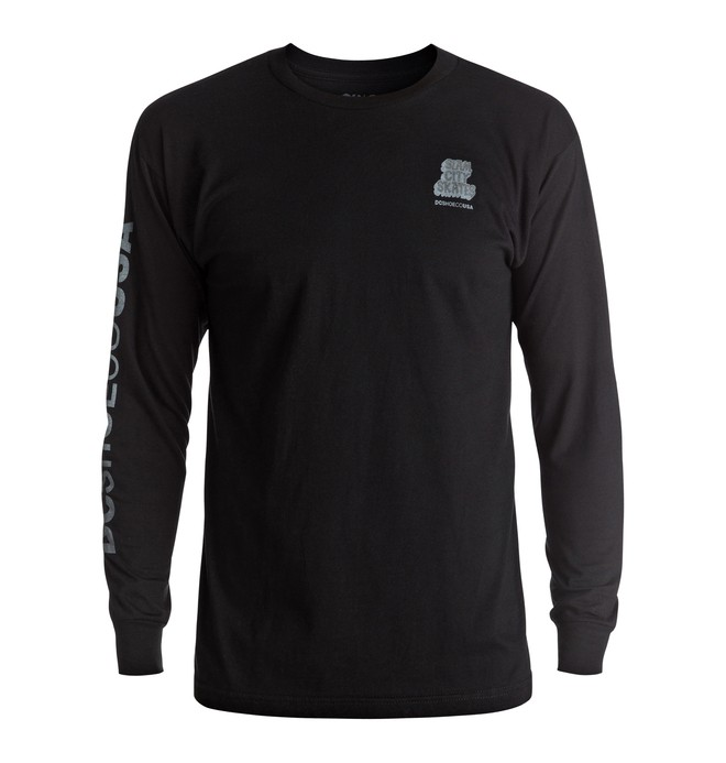 0 Hombres Camiseta Manga Larga Slam City  ADYZT04037 DC Shoes