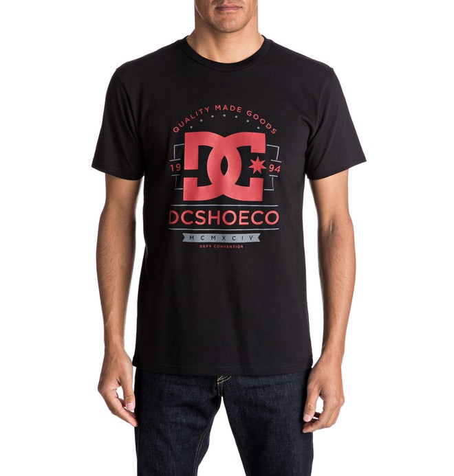 0 Men's Glorious Past Tee  ADYZT04058 DC Shoes