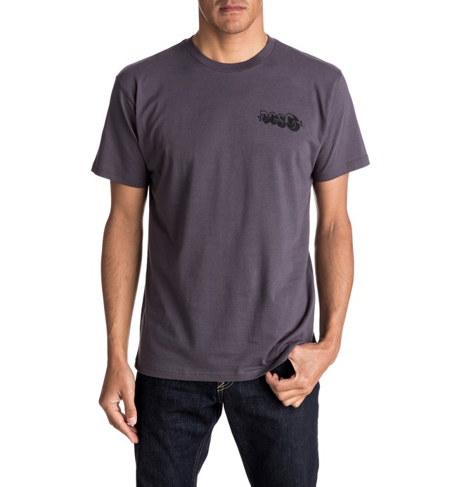 0 Men's La Fuerte Tee  ADYZT04069 DC Shoes