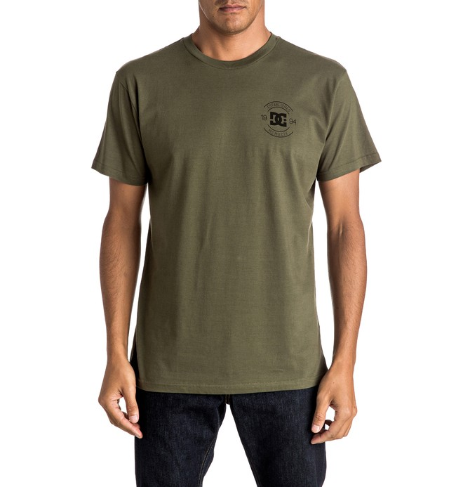 0 Men's Stampy Tee  ADYZT04075 DC Shoes