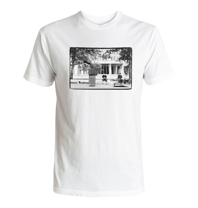 0 Hombres Camiseta  Slam City  ADYZT04080 DC Shoes
