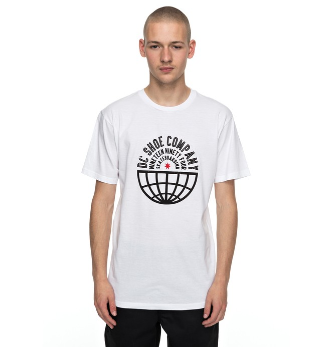 0 Men's Global Team Tee  ADYZT04107 DC Shoes