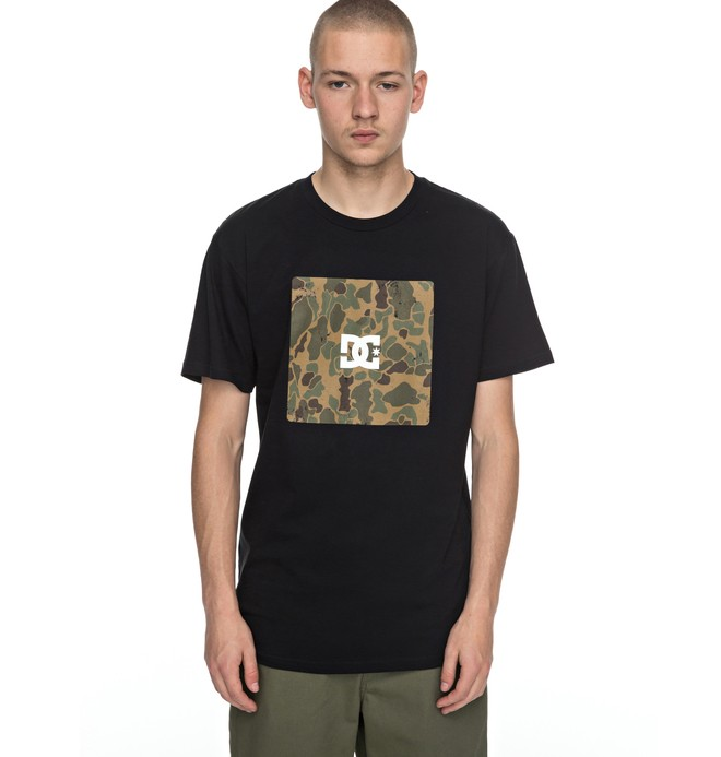 0 Men's Square Boxing Tee  ADYZT04132 DC Shoes