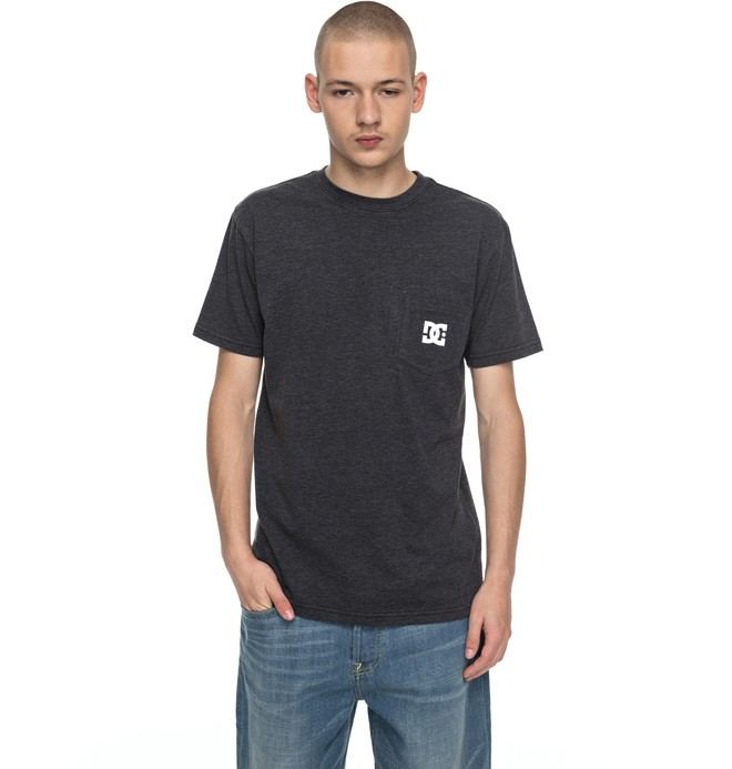 0 Men's Solo Star Tee Black ADYZT04151 DC Shoes