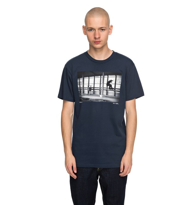 0 Men's Tiago 5050 Tee Blue ADYZT04169 DC Shoes