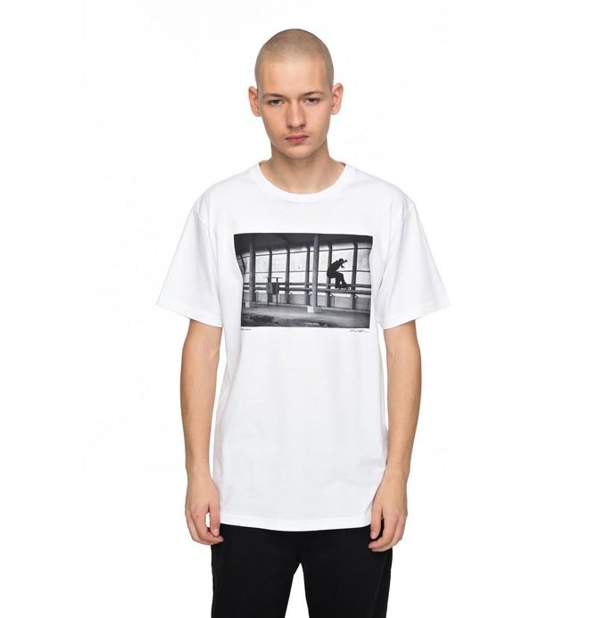 0 Hombres Camiseta  Tiago 5050  ADYZT04169 DC Shoes