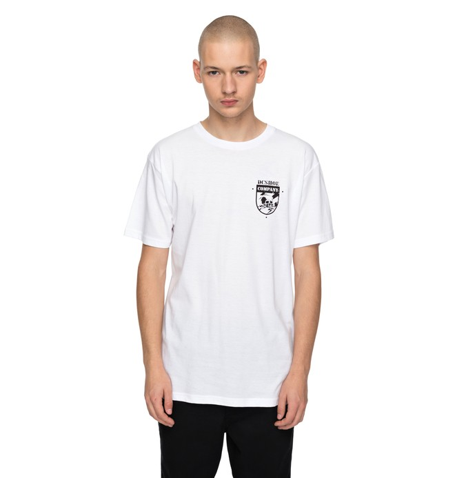 0 Hombres Camiseta  Good Co  ADYZT04176 DC Shoes
