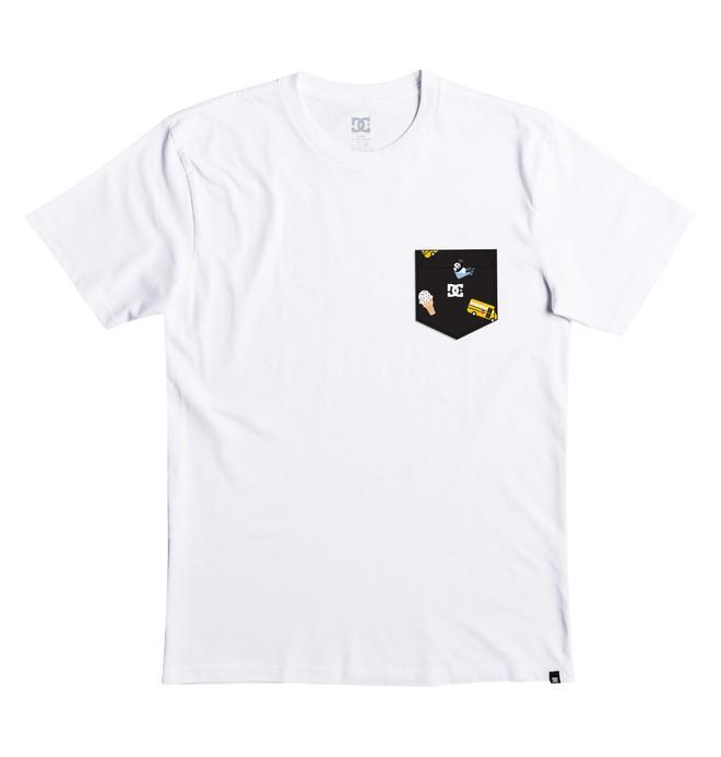 0 Hombres Camiseta con Bolsillo DCxENJOI  ADYZT04192 DC Shoes