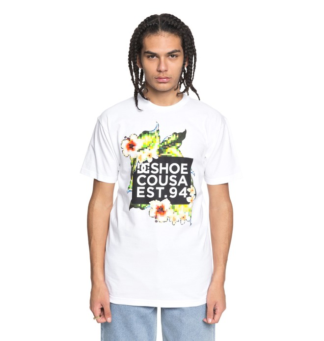0 Men's Tubular Tee White ADYZT04223 DC Shoes