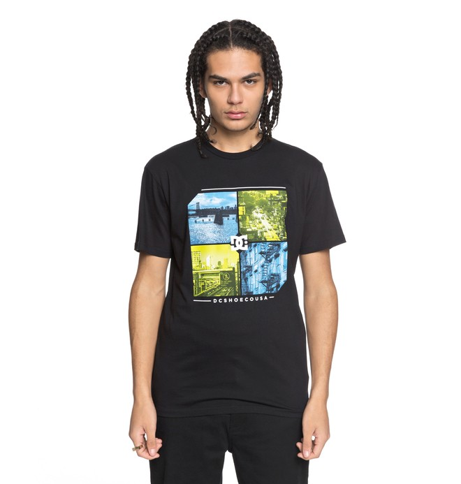 0 City To State Tee  ADYZT04228 DC Shoes