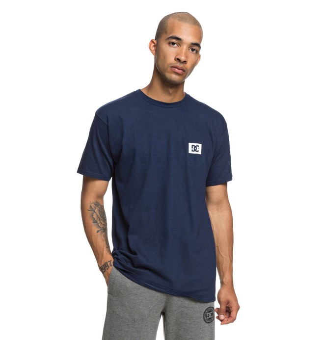 0 Stage Box Tee Blue ADYZT04245 DC Shoes
