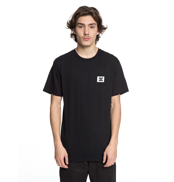 0 Men's Stage Box Tee Black ADYZT04245 DC Shoes