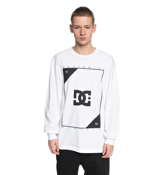 0 Men's Theory Long Sleeve Tee  ADYZT04246 DC Shoes