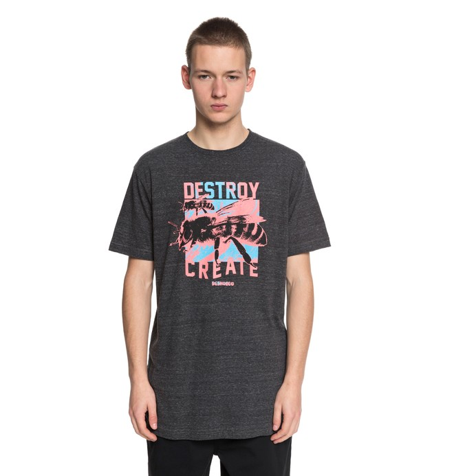 0 Men's Bees Attack Tee Black ADYZT04249 DC Shoes