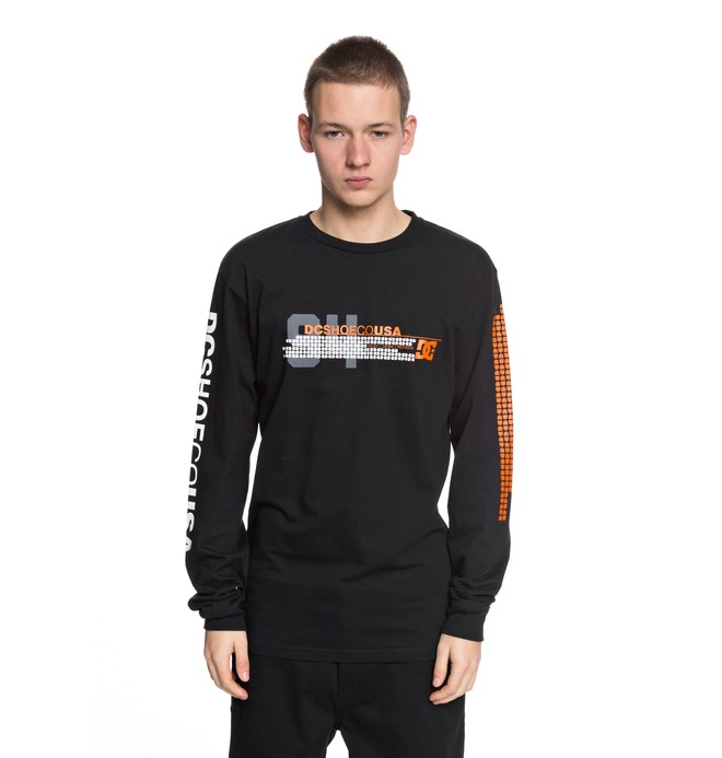 0 Men's Mad Racer Long Sleeve Tee  ADYZT04253 DC Shoes