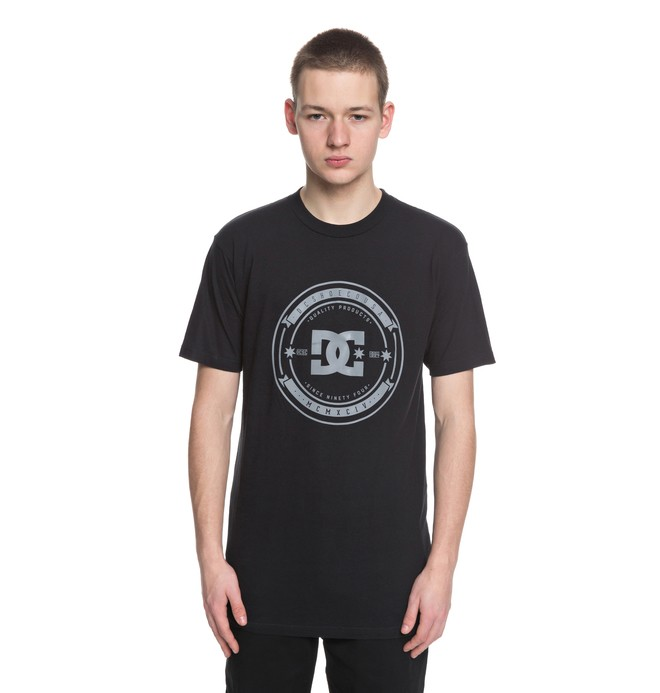 0 Camiseta Brodkast Negro ADYZT04288 DC Shoes
