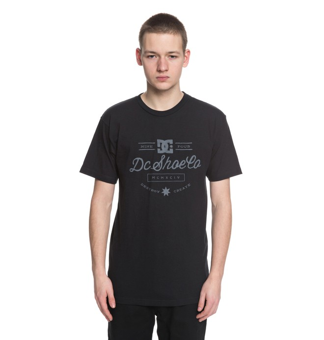 0 Therapy Tee Black ADYZT04290 DC Shoes