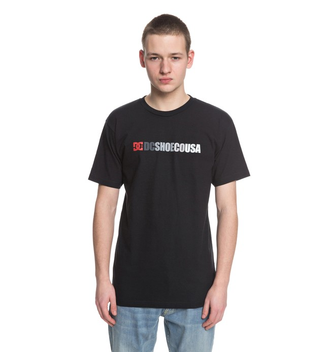 0 Alined - T-Shirt Black ADYZT04294 DC Shoes