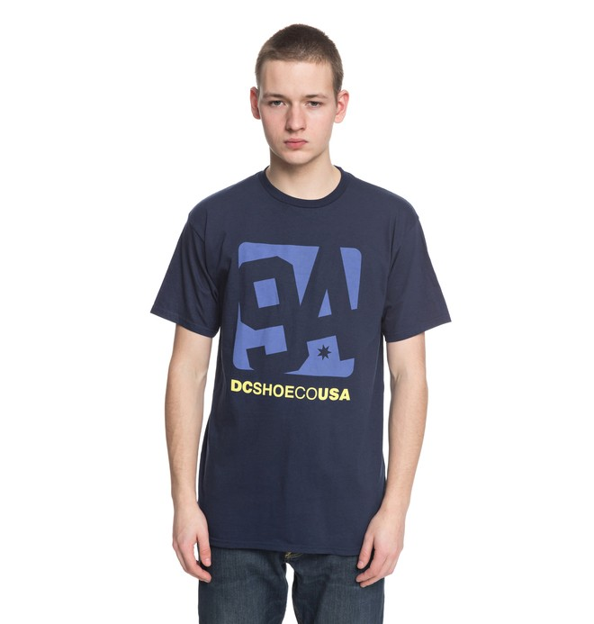 0 Arched - T-Shirt Blue ADYZT04306 DC Shoes