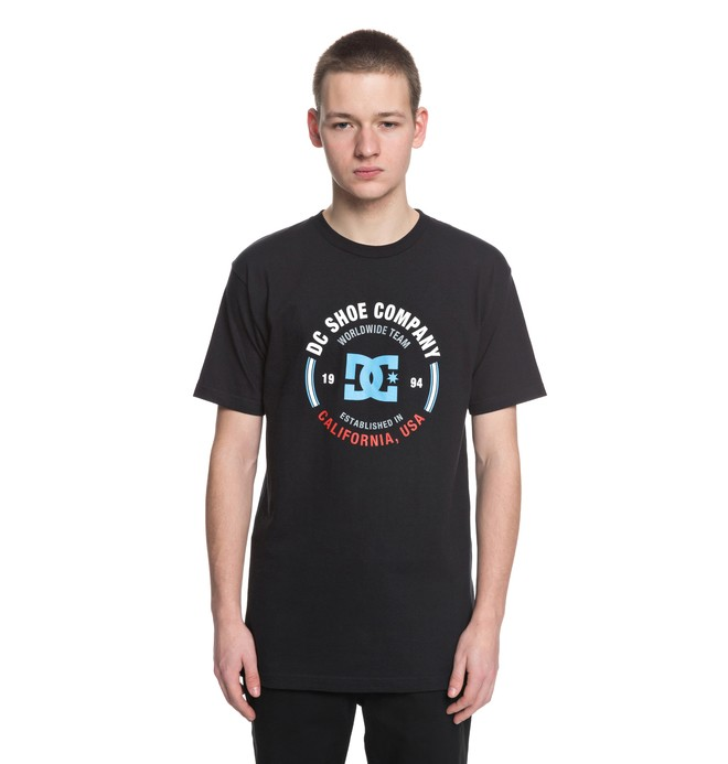 0 Round About - T-Shirt Black ADYZT04308 DC Shoes